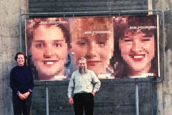 plakat grütli versicherung 1989