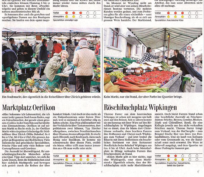 Artikel Tages Anzeiger 6.4.2009