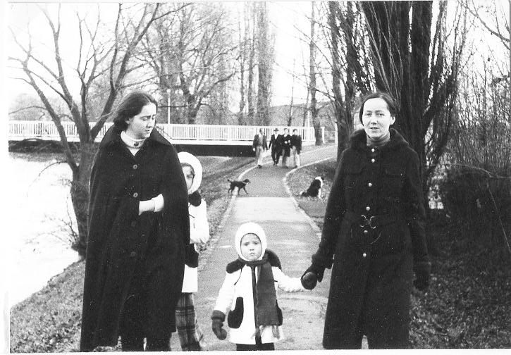 Lorenzettis auf dem Fischerweg 26.12.1974
