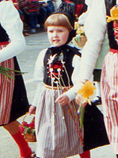 Kinderumzug Zürcher Sechseläuten 1978 Hallauer Familienschmuck